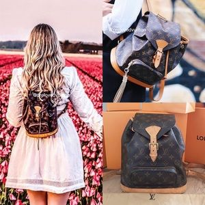 ♥️LV BACKPACK♥️Authentic MM Montsouris ✅